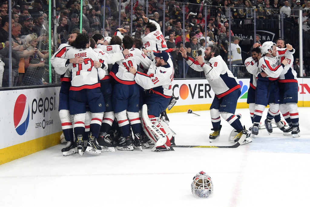 Alexander Ovechkin, Washington Capitals win first Stanley Cup with 4-3 win over Vegas Golden Knights