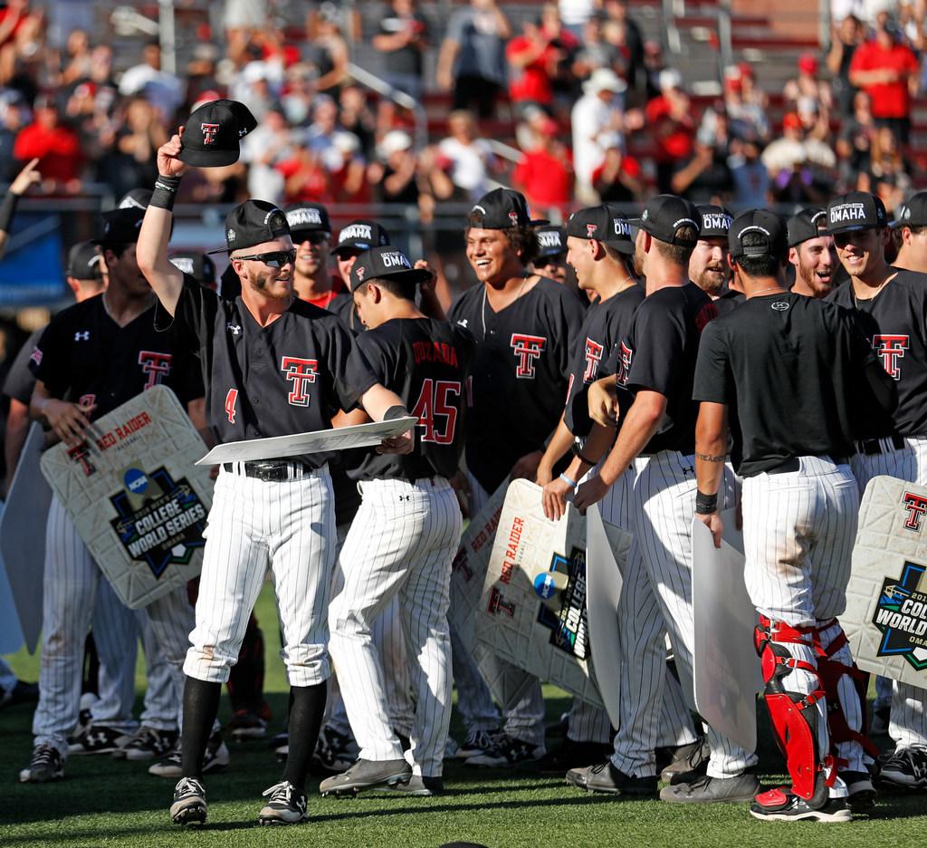 Emotional wins send College World Series regulars Texas and Texas Tech back to Omaha