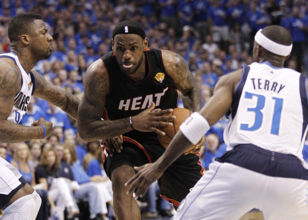 Jason Terry says 2011 loss to Mavericks gave boost to LeBron James' career