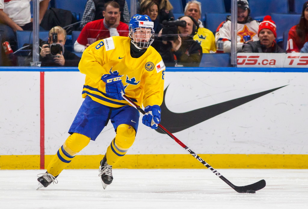 Ex-Star and current Buffalo Sabres GM Jason Botterill expected to take Swedish defender with first overall pick