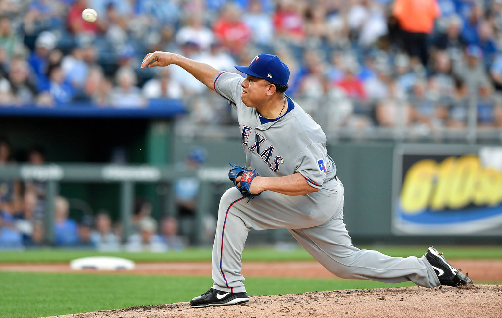 Bartolo Colon becomes Dominican Republic's all-time wins leader as Rangers top Royals
