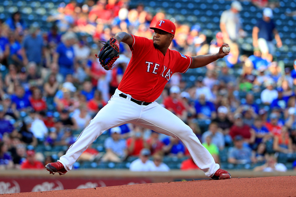 Rangers option Yohander Mendez to Round Rock after violation of team rules