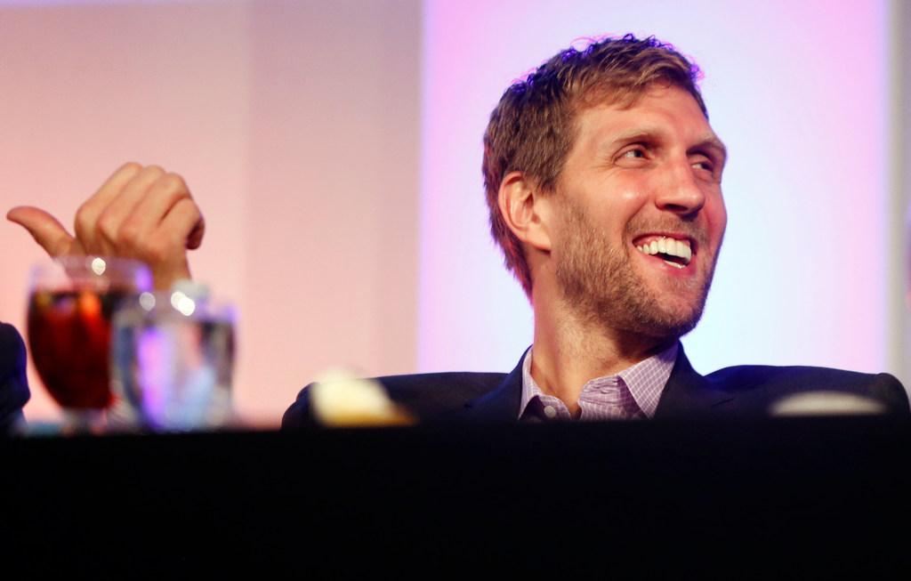 Dirk Nowitzki turned 40 on Tuesday, and Twitter made sure he knew about it