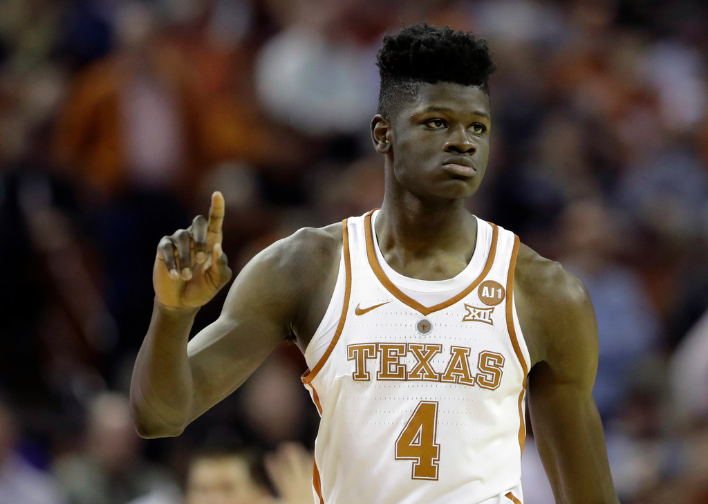 Texas C Mohamed Bamba selected by Orlando Magic with sixth pick in NBA draft