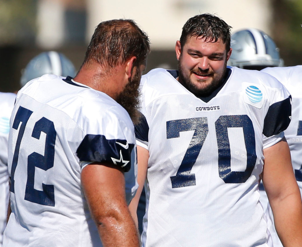 Zack Martin discusses stress of waiting on new contract, vacation plans, NFL's best defensive tackles