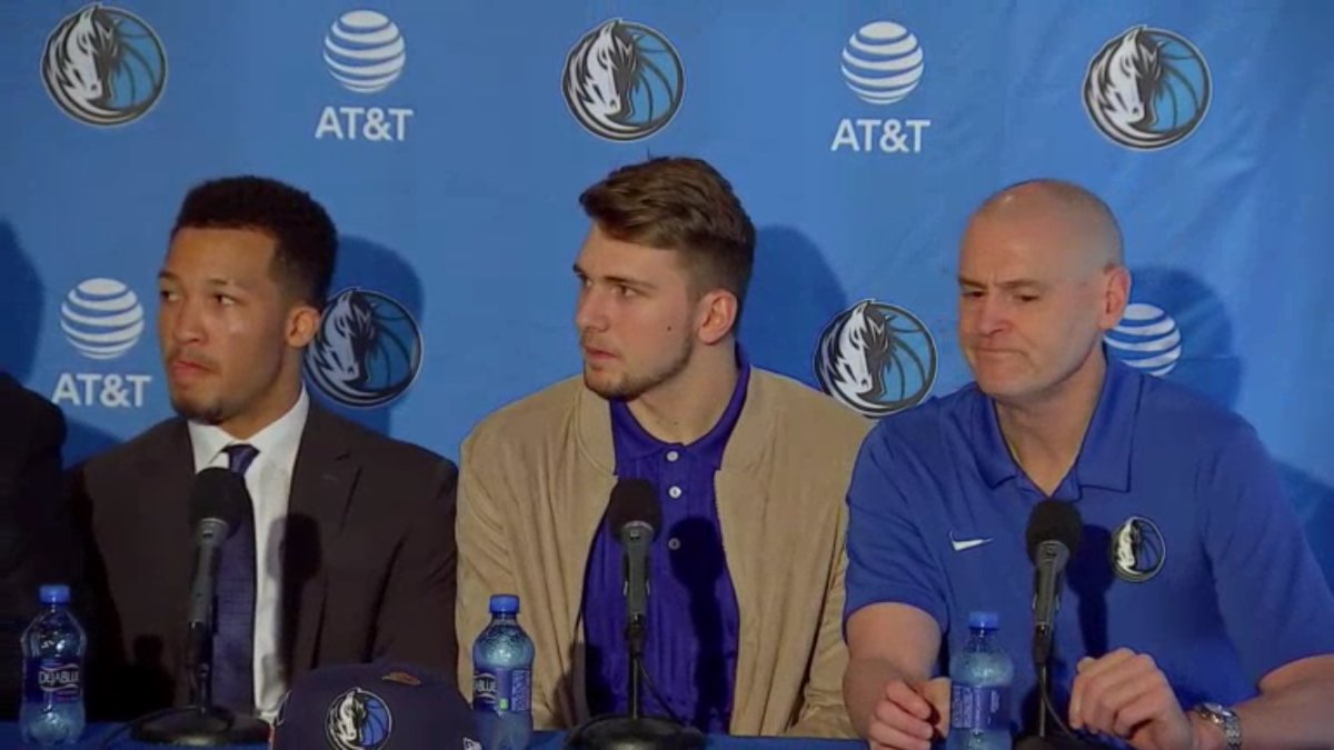 Mavericks draft pick Luka Doncic: I don't know much about Texas, but 'I know about the Cowboys'