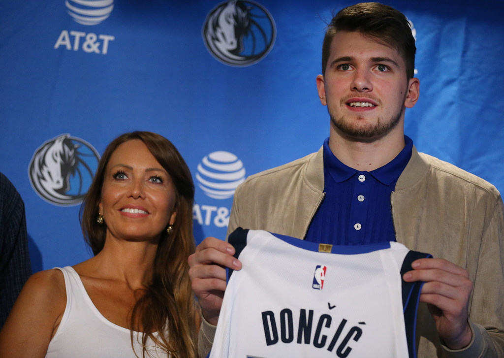 cf0dbc5ac Dallas Mavericks   We all know this is just the beginning   Behind the  scenes on Luka Doncic s first day in Dallas