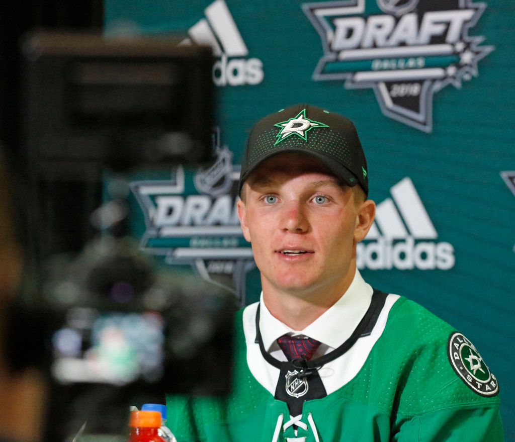 Did a gluten-free diet lead to a scoring spike for Stars first rounder Ty Dellandrea?