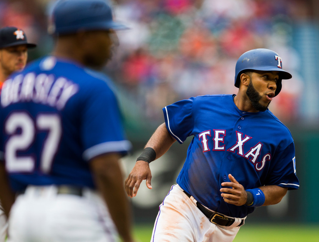 Vote for Elvis! Rangers hold clubhouse vote to determine players association representative