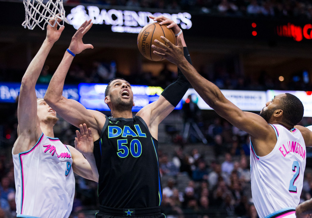 Dallas Mavericks announce center Salah Mejri has re-signed