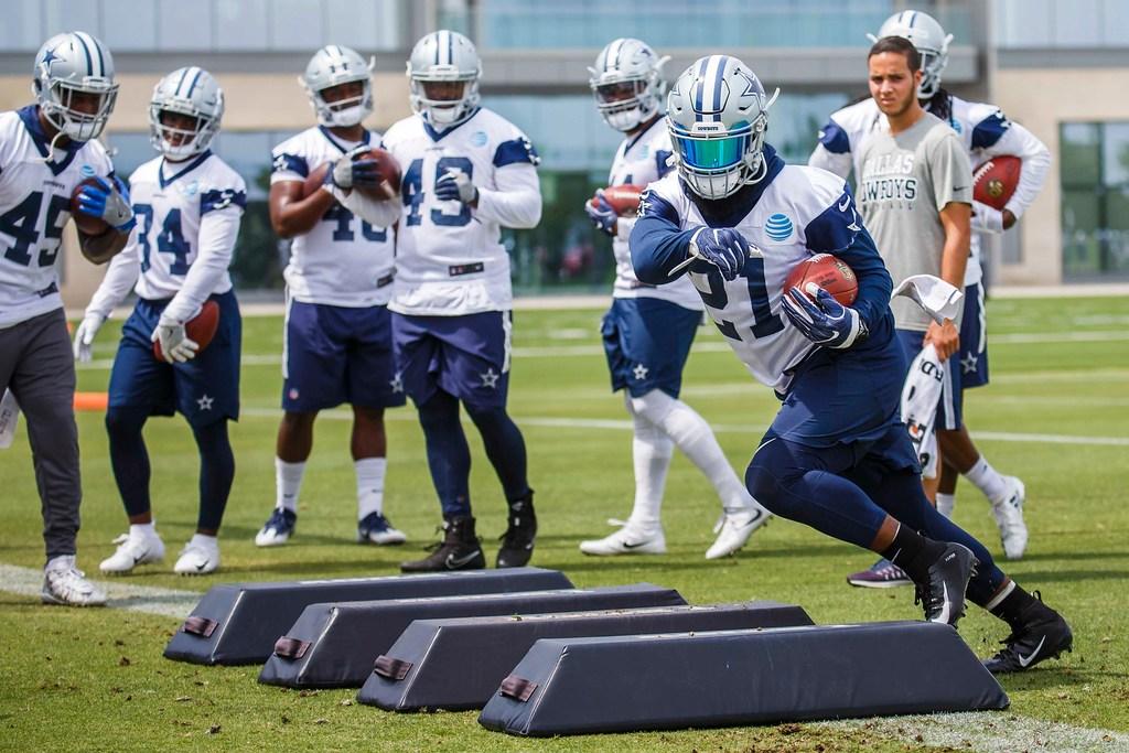 Cowboys position series: What will the running back rotation look like behind Ezekiel Elliott?