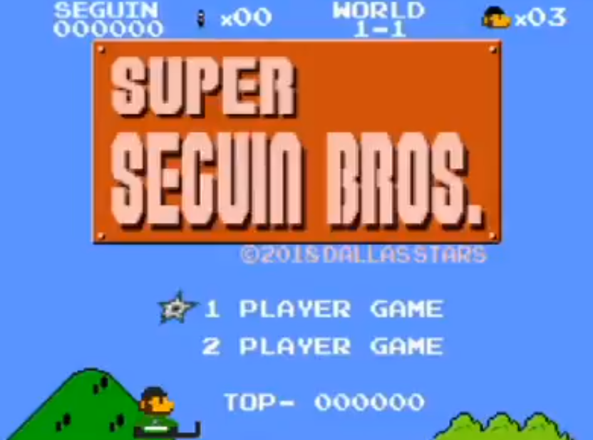 Stars create awesome Nintendo-inspired game featuring Tyler Seguin to get through NHL's long summer