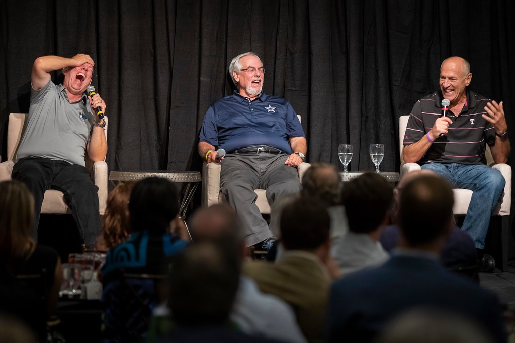 How Talk of the Town event featuring golden era of Cowboys, Mavericks and Rangers radio voices came to be
