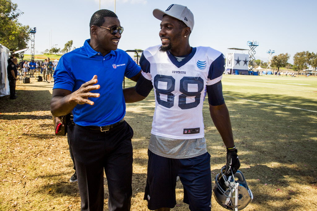 Who should the Cowboys get more involved at WR now that Dez Bryant is gone? Michael Irvin has an idea