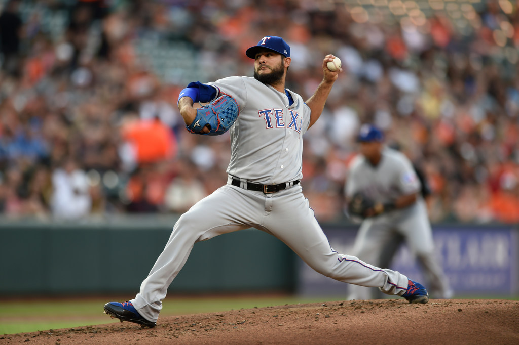 Even in defeat, Martin Perez took his first step in proving he can be part of the Rangers' future