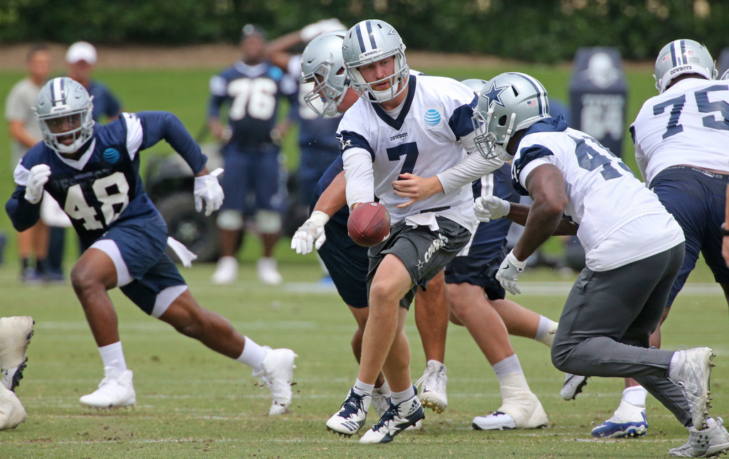Two reasons QB Cooper Rush has early edge over Mike White as Dak Prescott's backup