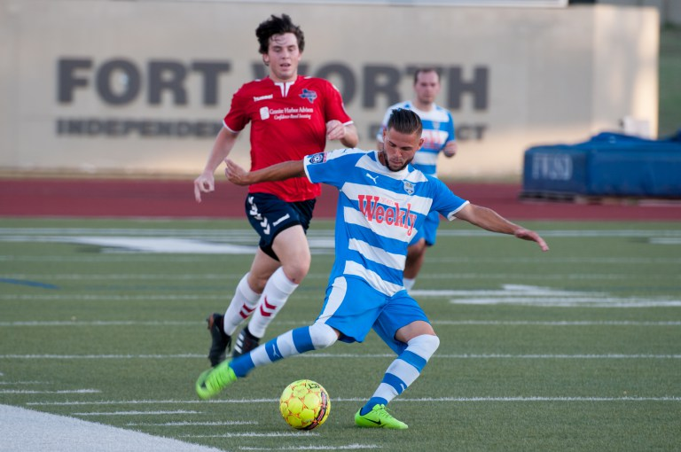 Fort Worth Vaqueros midfielder Jamie Lovegrove wins 2018 NPSL Goal of the Year