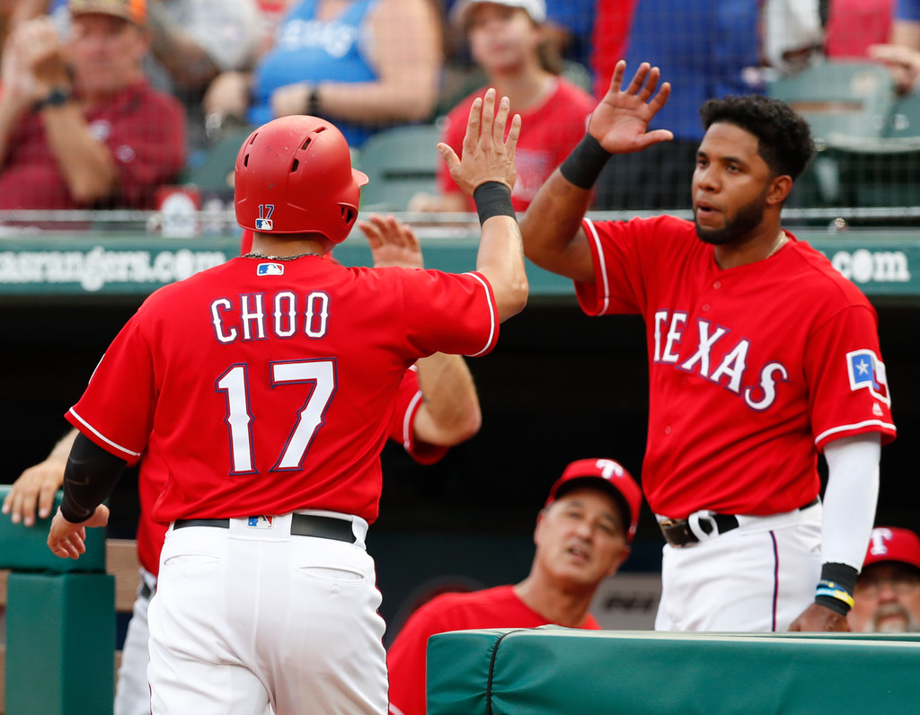 Shin-Soo Choo's streak continues past All-Star break, closes in on another historic mark