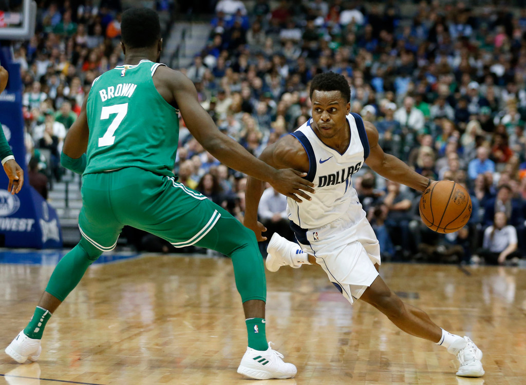 Don't blame Yogi Ferrell for taking the money, but when do the Mavericks get a payoff?