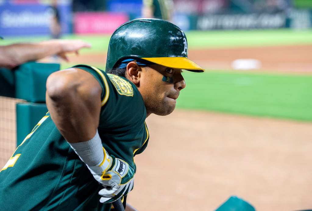 Inside Khris Davis' huge numbers against the Rangers, and one scout's idea on how Texas can get him out