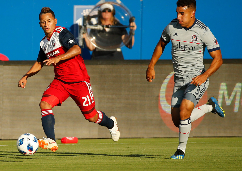 Scoreless drought for Michael Barrios finally came to an end vs. Sporting KC