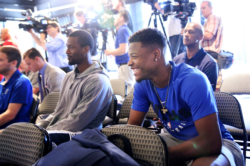 From South Africa, Harrison Barnes weighs in on Mavericks summer additions Luka Doncic and DeAndre Jordan