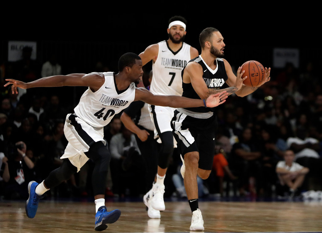 Harrison Barnes' double-double helps push Team World past Team Africa in NBA Africa Game 2018