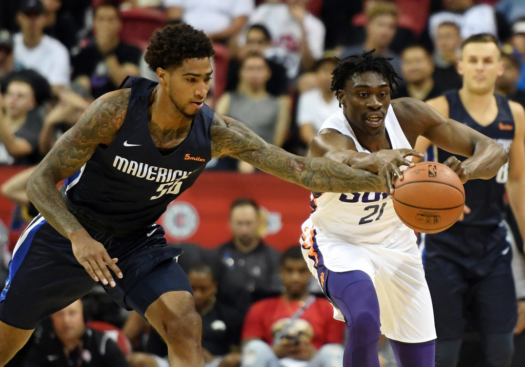 Rookie F Ray Spalding showed flashes in summer league, but will he actually become a contributor for the Mavs?