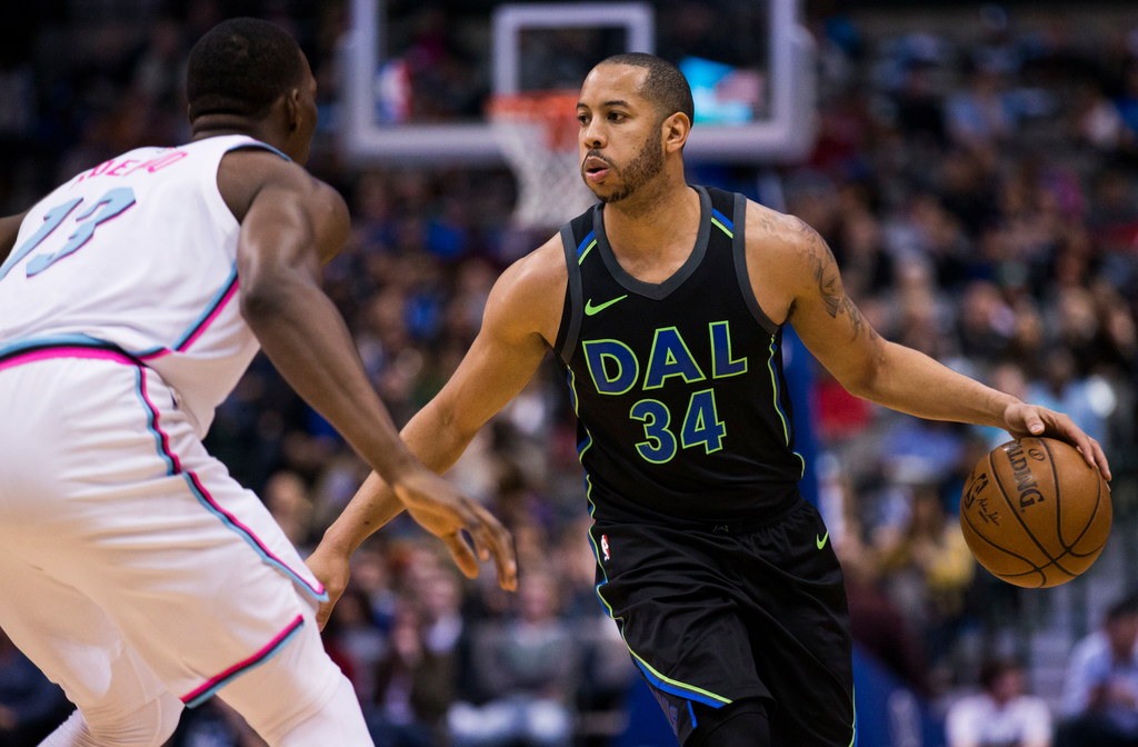 With such a crowded backcourt, here's where Devin Harris' true value comes into play for the Mavericks