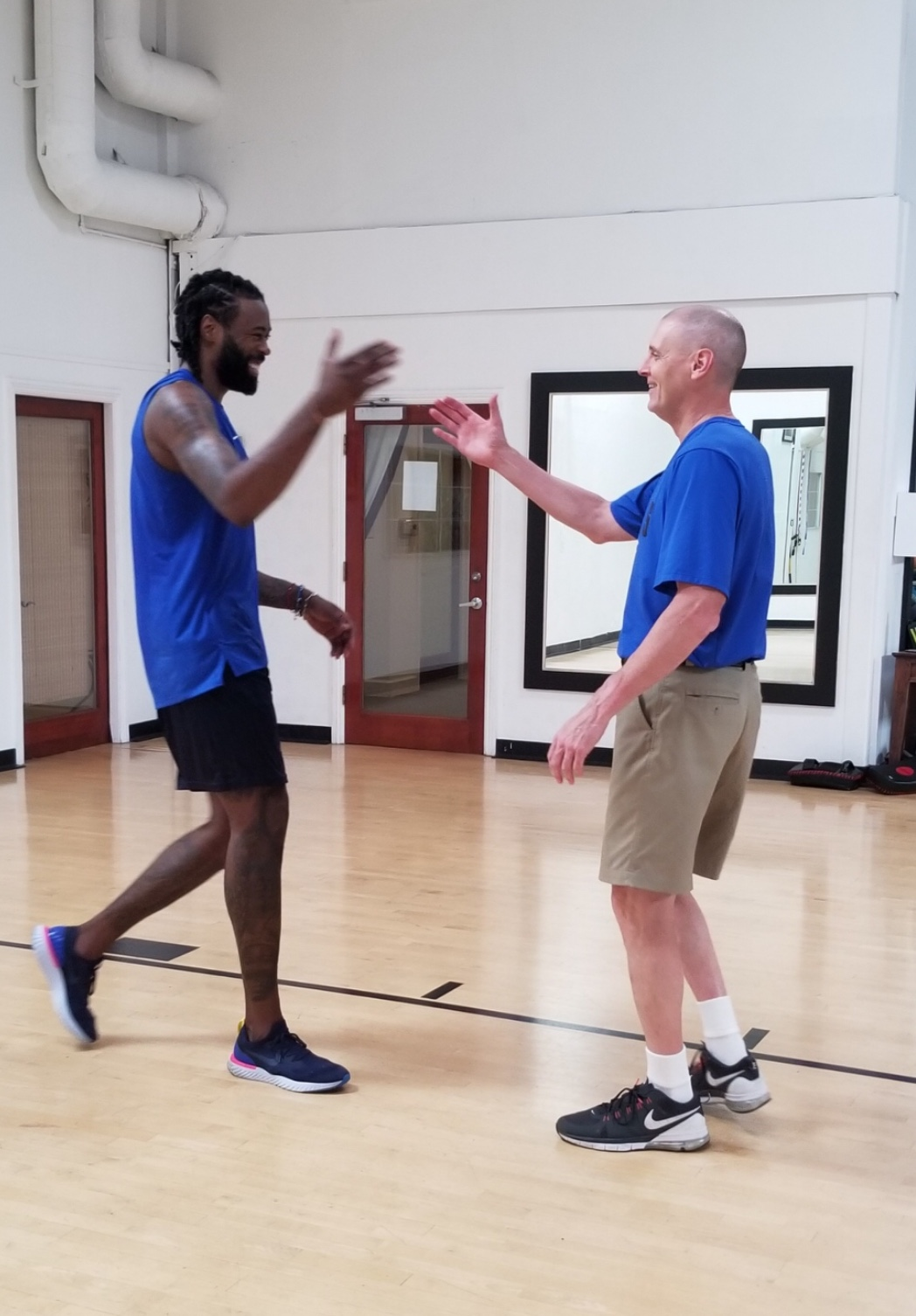 Rick Carlisle describes his recent visit with 'really excited' DeAndre Jordan -- and why he had to cancel Slovenia-Luka Doncic trip