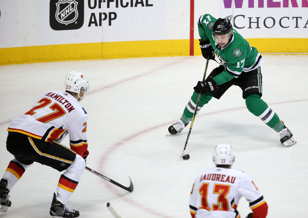 What happened to Dallas Stars forward Devin Shore offensively last year?