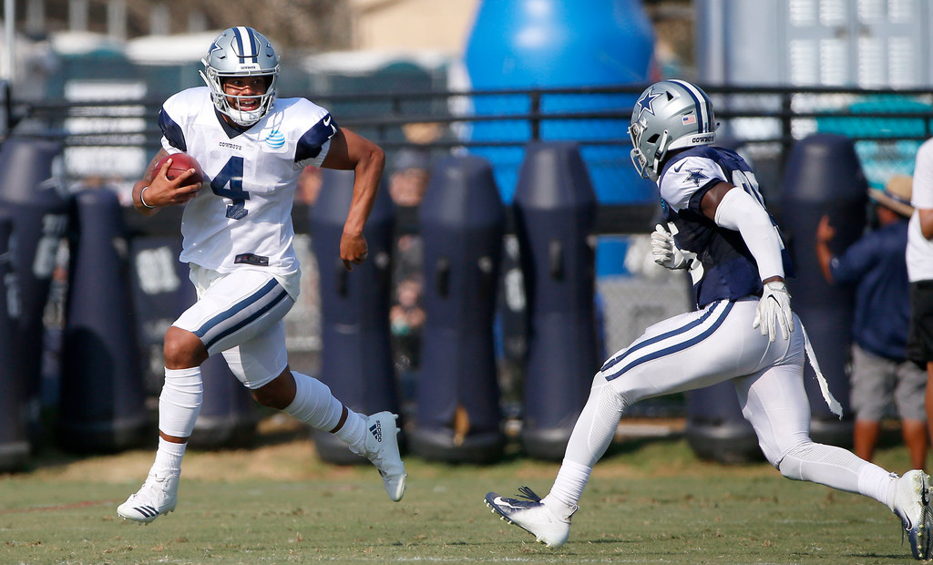 Does Jerry Jones have any concerns with QB Dak Prescott's play?