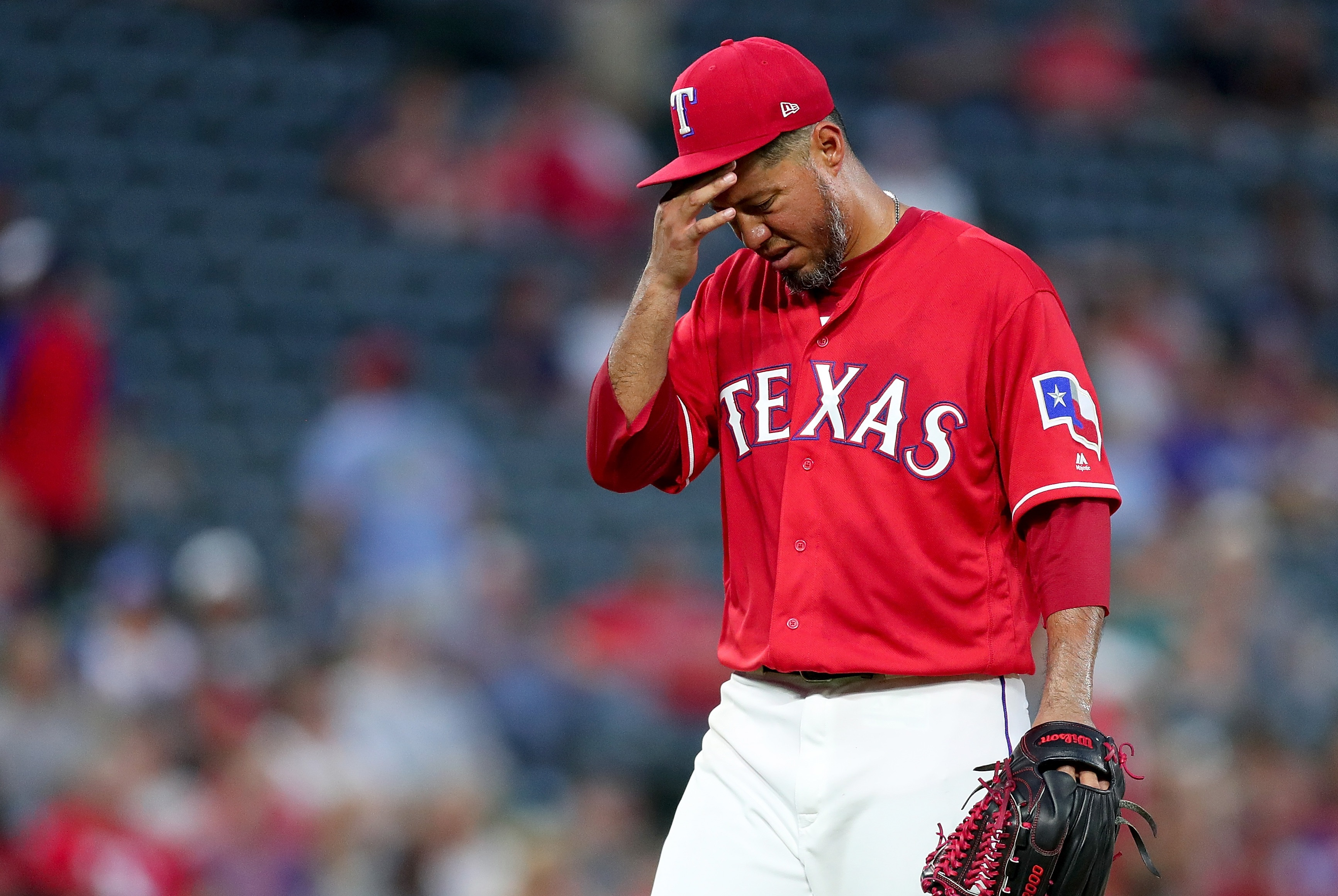 Yovani Gallardo helpedbandage the Rangers' rotation. But how long will Texas keep him around?