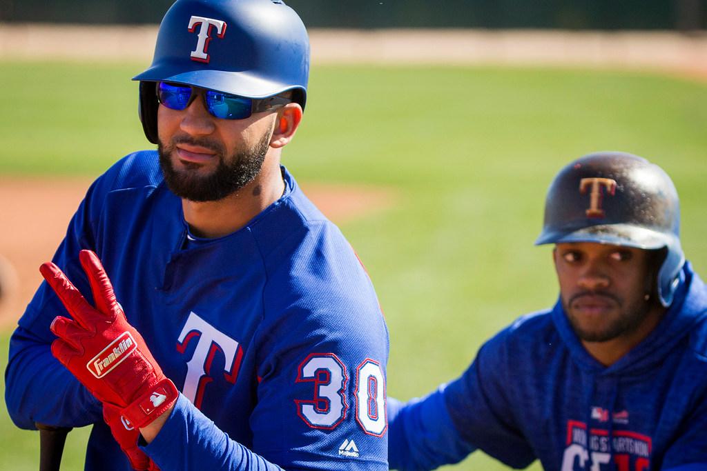 Imminent return of Nomar Mazara puts Rangers' 25-man roster in tight spot