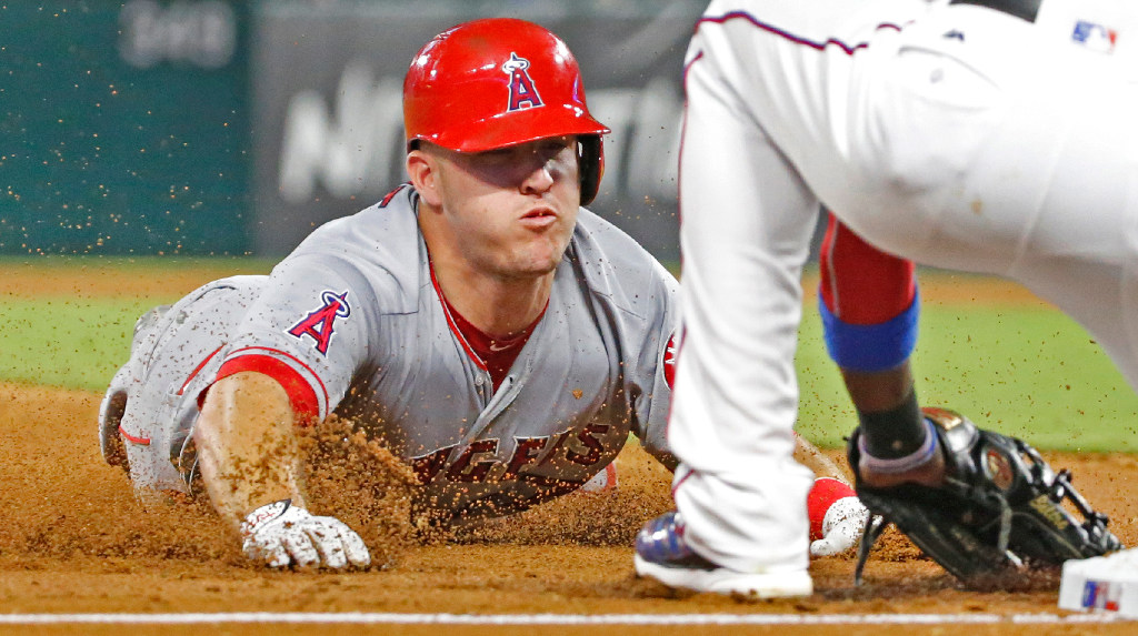 Angels' Mike Trout could miss upcoming series vs. Rangers