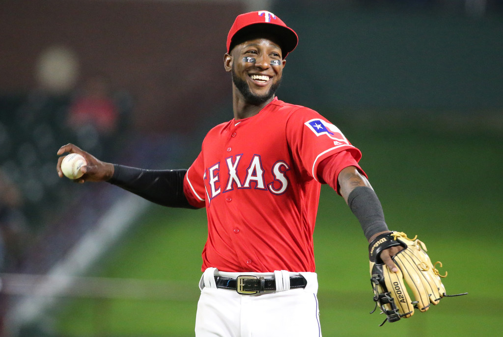 WATCH: Jurickson Profar, Rangers pull off triple play to escape bases-loaded jam vs. Angels