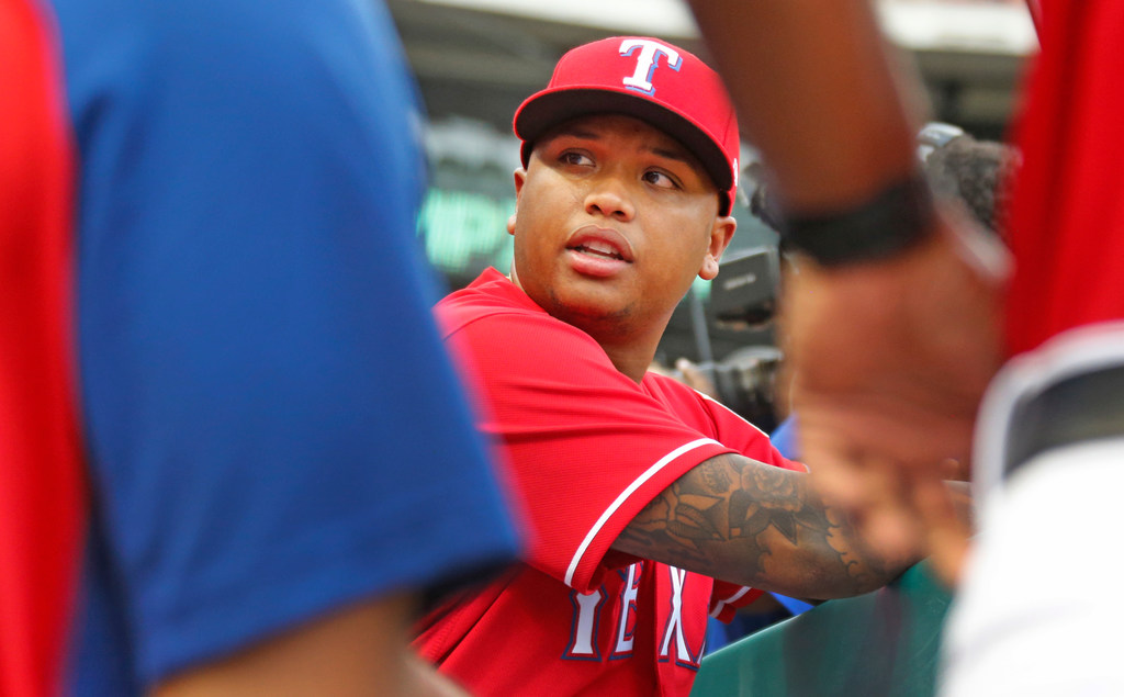 Why the Rangers chose to send Willie Calhoun back to Triple-A Round Rock