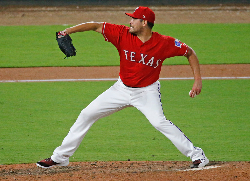 The unsung hero of Texas' big comeback win against the Angels on Thursday night