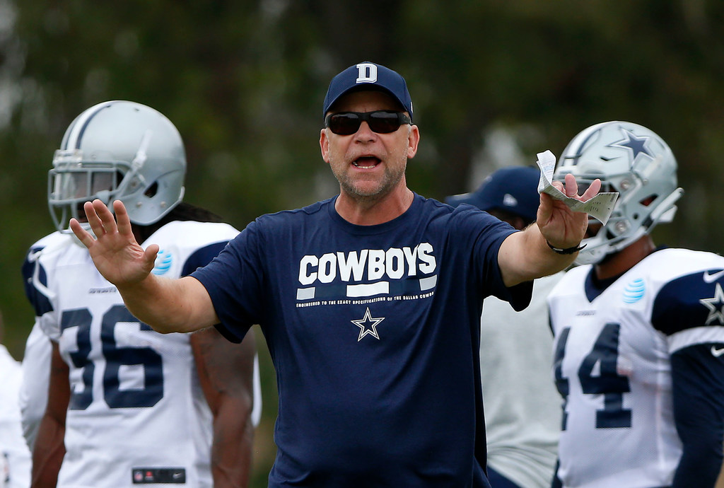 The Cowboys' nondescript group of WRs and TEs may be exactly what OC Scott Linehan needs