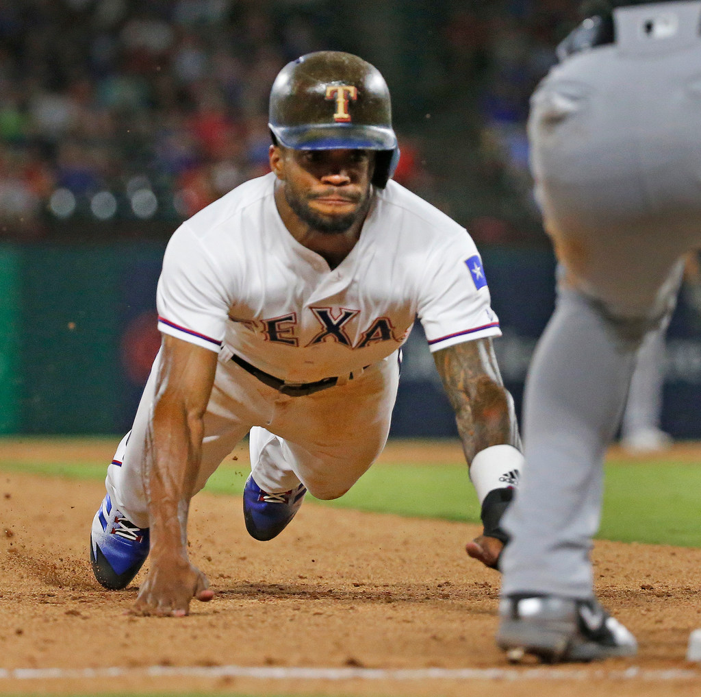 The self-realization of Delino DeShields: Now older, he suddenly sounds wiser