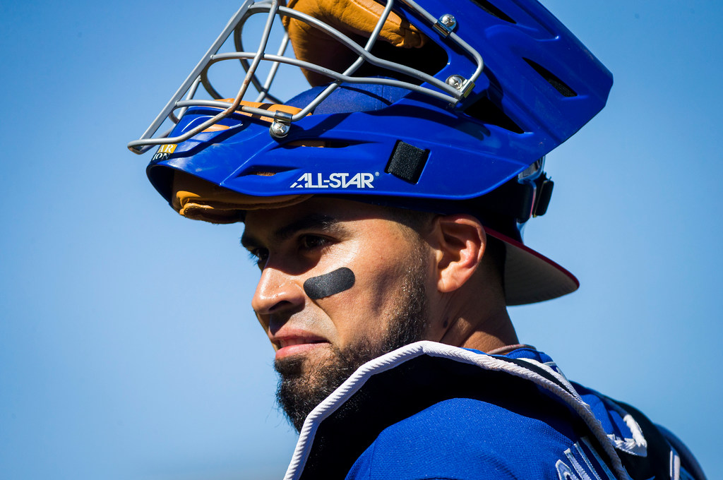 Having struggled to support his young family once upon a time, Robinson Chirinos makes sure local kids don't go without