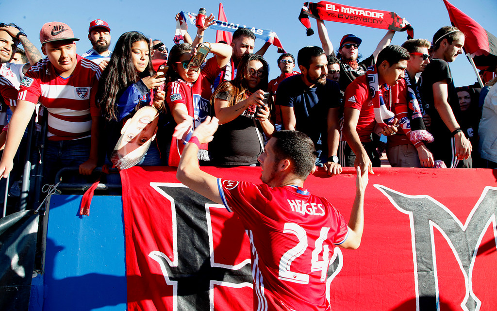 Hedges' momentous night as FC Dallas weather the storm