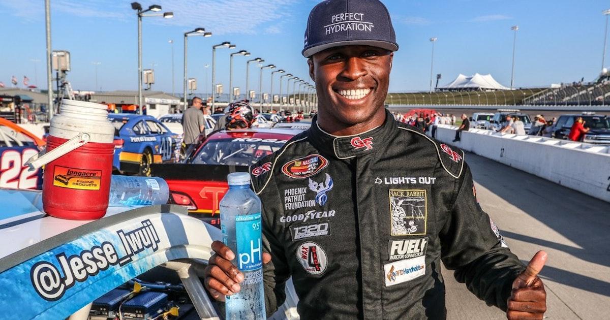 Carrollton's Iwuji steps up to NASCAR trucks series