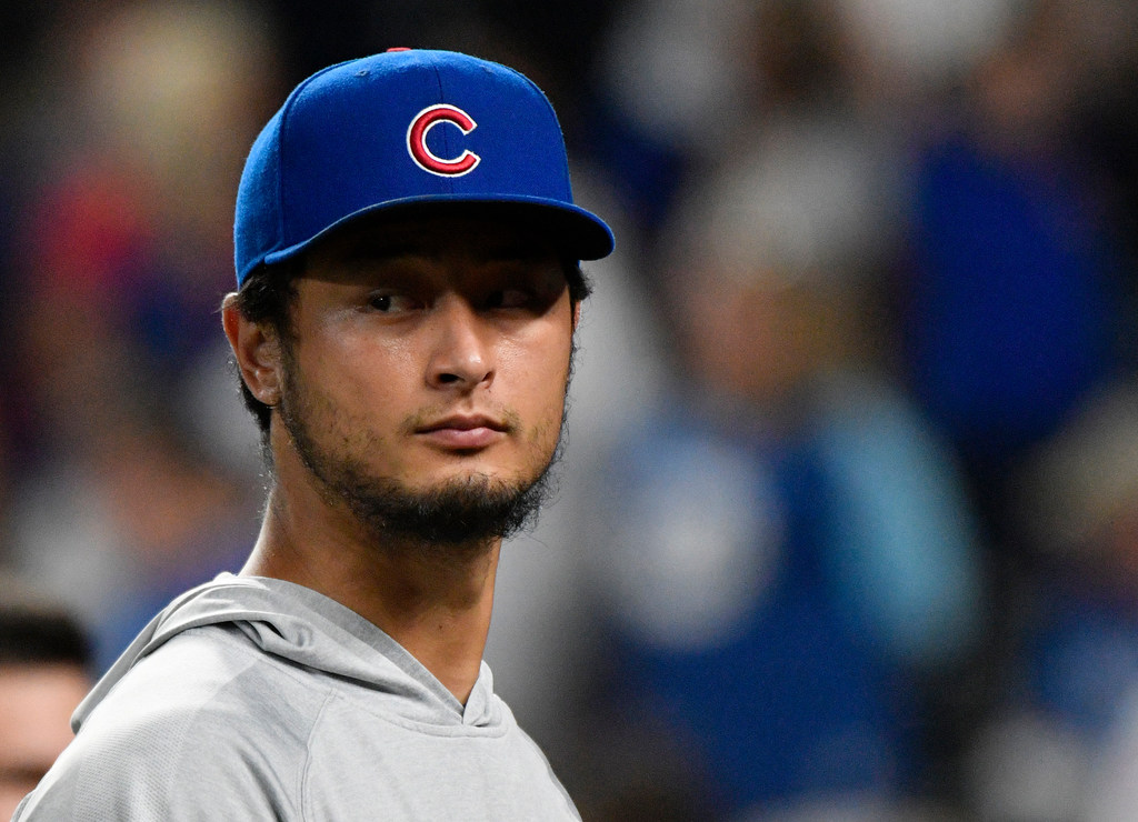 Cubs' Yu Darvish out for year with elbow, triceps injury