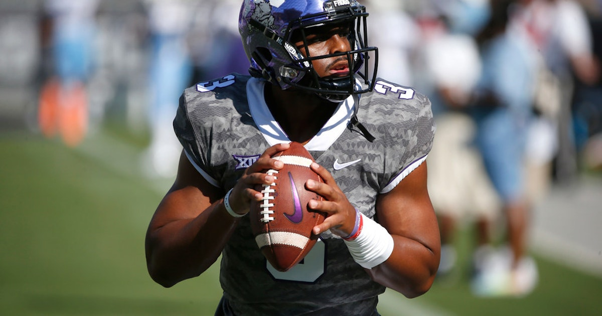 College Sports  TCU quotable  QB Shawn Robinson says he had  no choice  but  to score  9ac0c6273