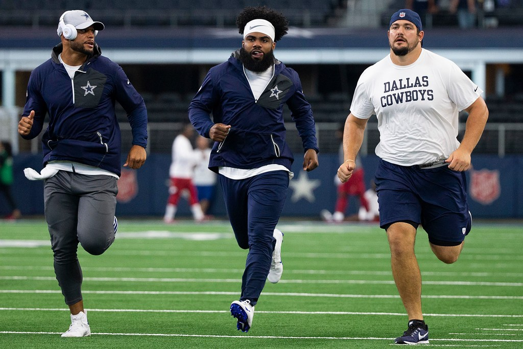 Zack Martin: Something feels different about Ezekiel Elliott this season; 'I think he's ready for a big year'