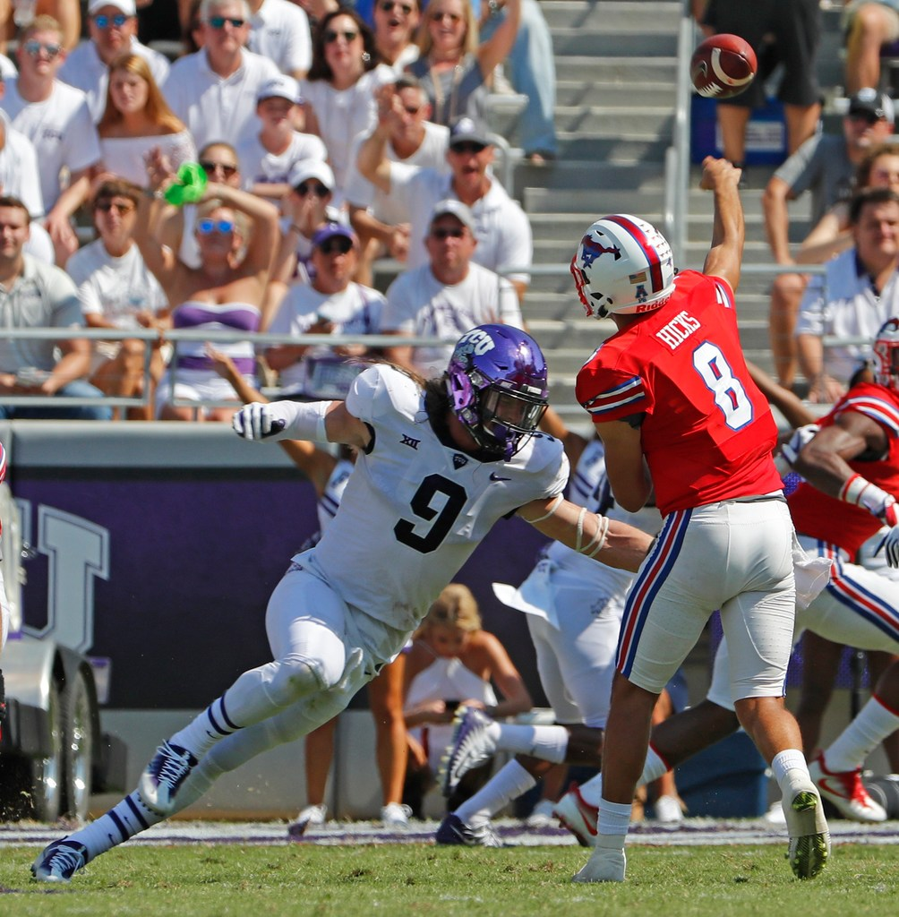 2ce9846d7d College Sports  Why a loss to TCU would be historic for SMU in the Battle  for the Iron Skillet