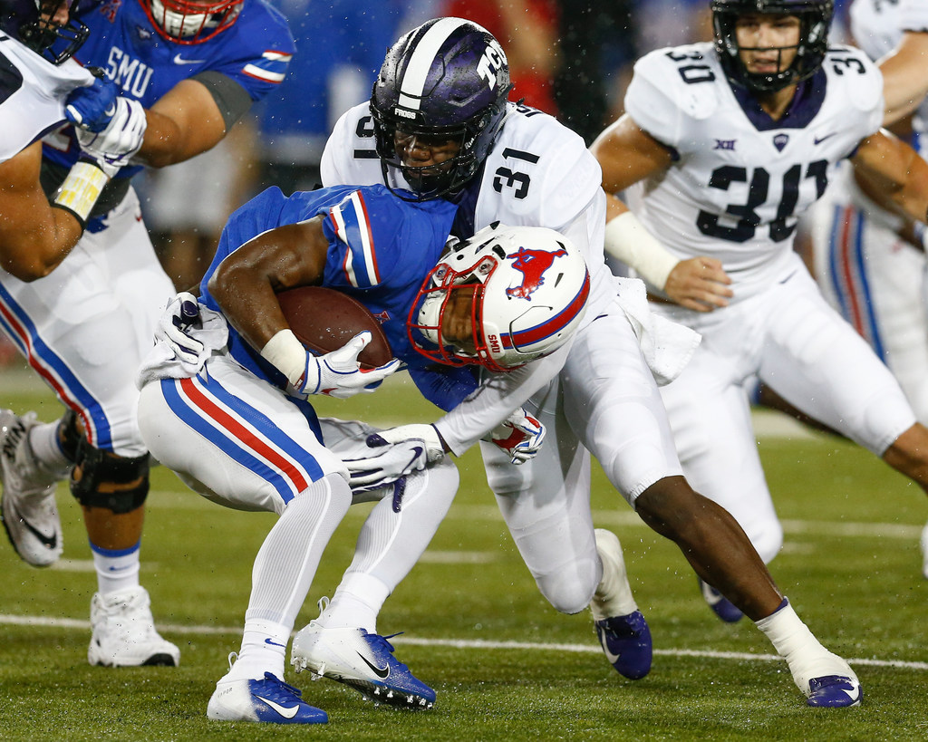 1efe9bd89e College Sports  5 thoughts from TCU s 42-12 win over SMU  Mustangs look  capable but can t weather the Frogs  storm