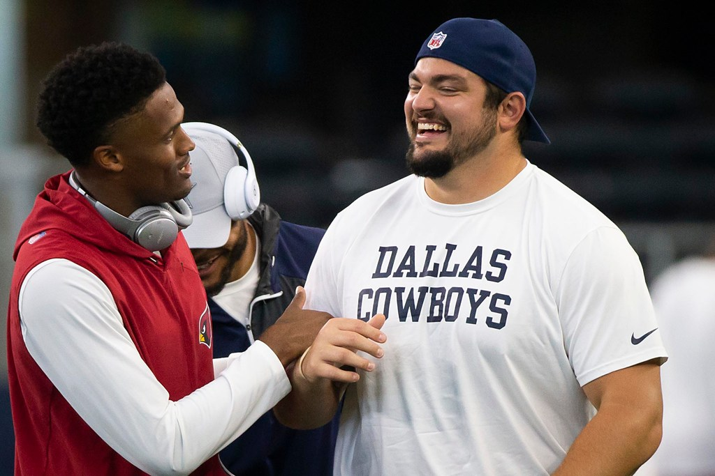 Zack Martin reacts to being the 'no brainer' choice as Cowboys' team captain