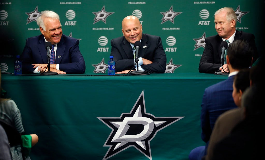 Here are the two things new Stars coach Jim Montgomery will stress in his first NHL training camp